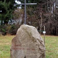 Gedenkstein für Kurfürst Clemens Wenzeslaus am Tempel