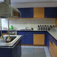 Küche für den Saal