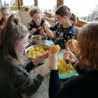 Kartoffelsalat machen zum Frühshoppen